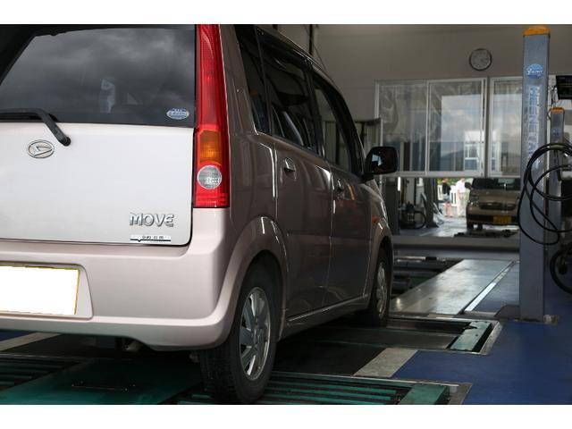 陸運局指定工場ですので、自社にて車検を通す事が出来ます。