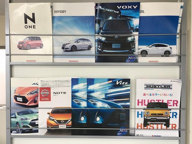 新車カタログも沢山ご用意しております。次に愛車選びはPROXで♪