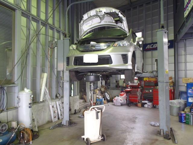 2柱3トン車両対応リフト