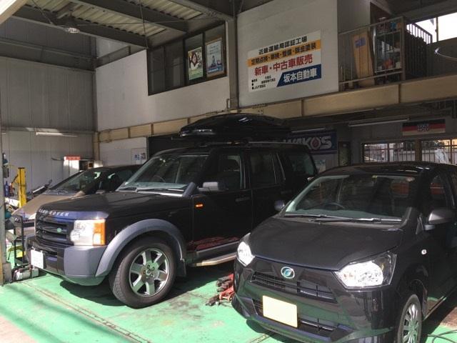 輸入車から軽自動車まで幅広く対応いたします。