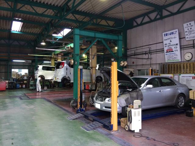 工場内も広く、設備も充実、何でもお任せください