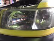 ヘッドライトコーティング、HID LED 持ち込み交換もOK