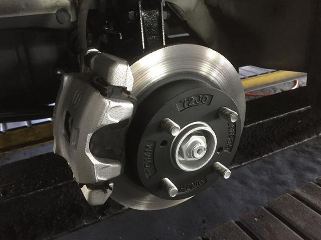 ブレーキ完全OH、防錆塗装は車検時に同時するとお得です!