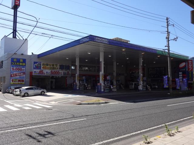 ガソリン給油、オイル交換、車検はお任せください。