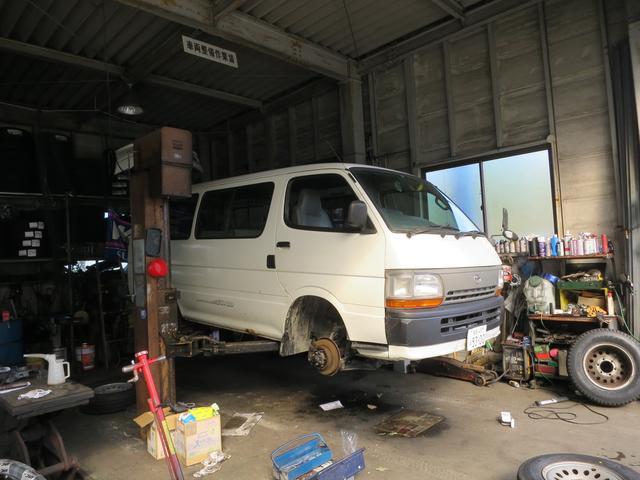 パーツ取付以外の車検、整備、修理もお任せください!
