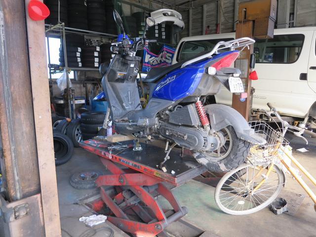 二輪車、バイク、スクーターの修理も致します。