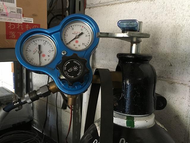 溶接機も完備しております。一般整備や修理もスムーズに対応致します。