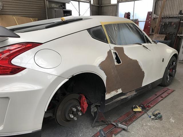 鈑金塗装についてもご相談下さい。保険修理対応致します。
