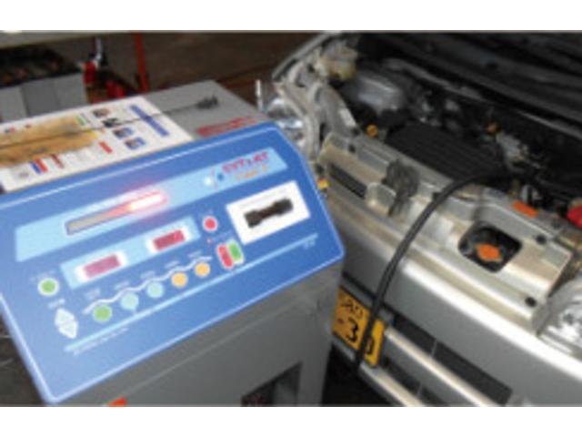 オートマチックオイル診断・交換機完備