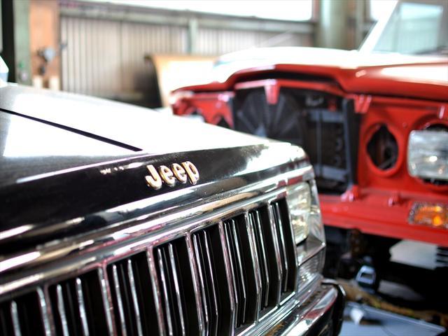 旧車だけでなく、Jeepであれば、新型まで整備修理を承っております。