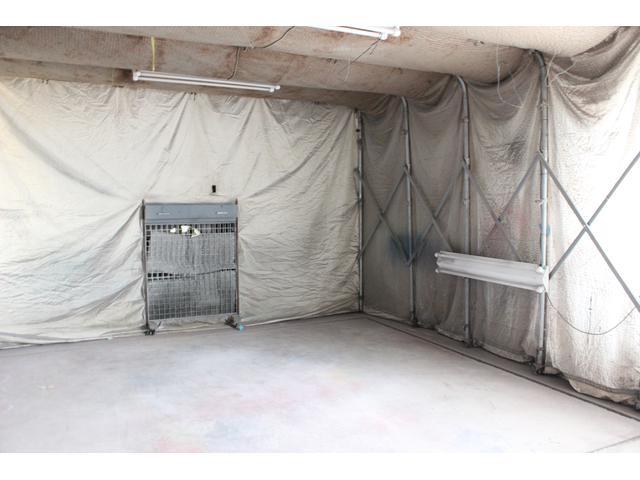自社塗装ブース完備で、パーツの塗装も対応致します