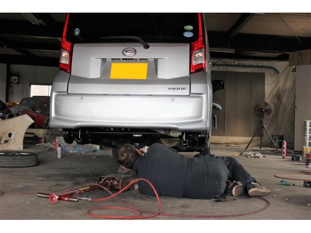地域密着型の経営で、地域の皆様の車検やメンテナンスを行っております