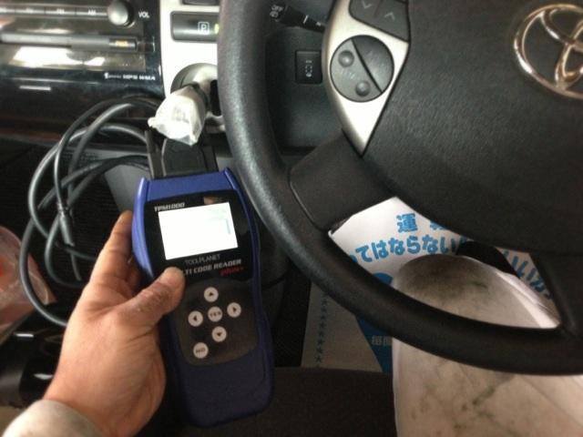 コンピュータ診断機完備!最新のお車の点検にも対応出来ます!