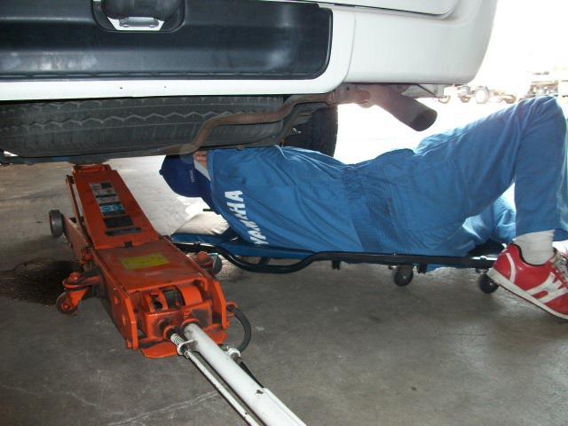 修理も車検もメンテナンスも・・・トータルサービス店です!