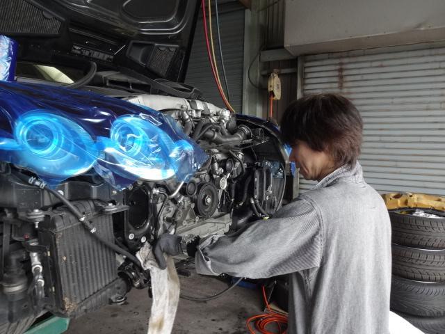 輸入車の修理、メンテナンス、車検もお任せください。