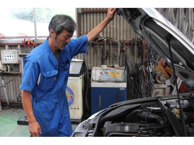 輸入車も整備修理もお任せください。