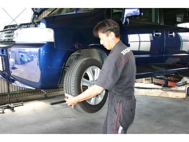 タイヤの交換・取付・ローテーションなど足回り関連もお任せ下さい。