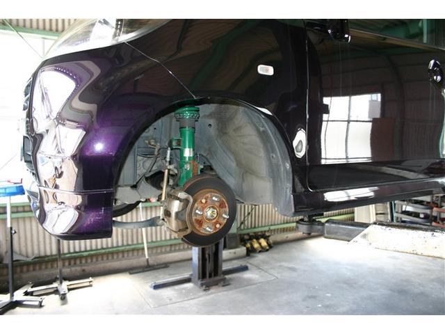 サスペンション・ブレーキ関連などの修理・整備・カスタムもお任せ下さい。
