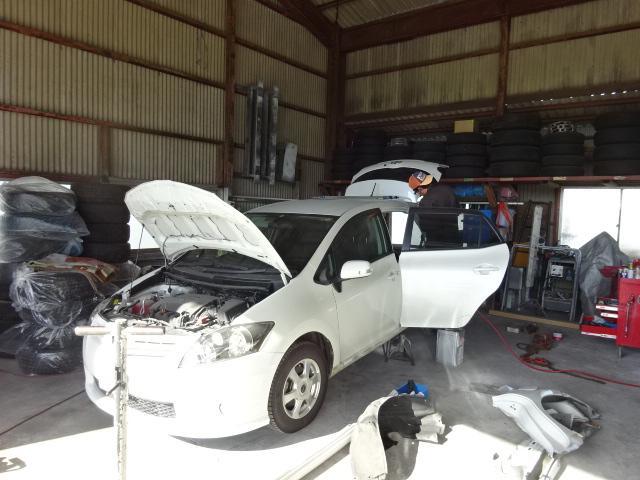 事故修理、板金塗装もOK!
