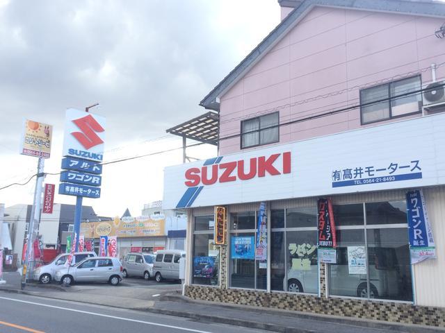 SUZUKIの看板とGooPitの幟を目指して来て下さい。