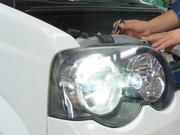 ライト・ウィンカー等灯火器の修理・整備を行います
