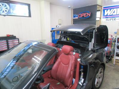 輸入車の修理実績には自信があります。