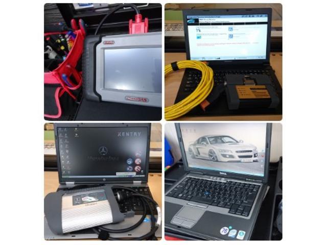 各メーカー対応のシステム診断機を完備しております。