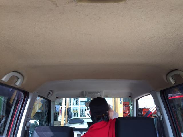 天井のたばこの汚れなどキレイに落とします!