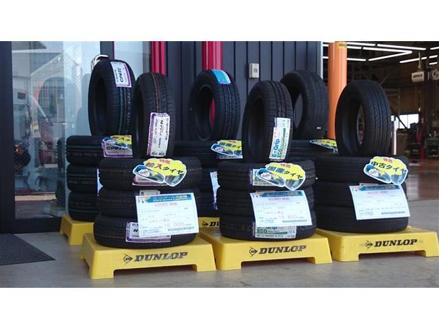 中古新品、輸入タイヤ販売を行っております。お客様に合わせたタイヤをセレクトさせて頂きます。