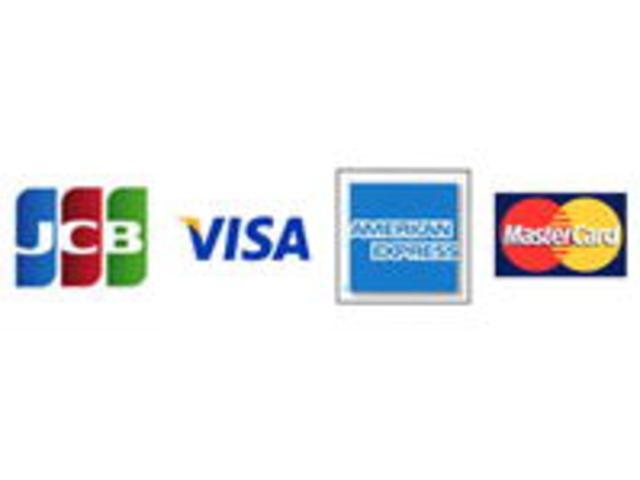 各種クレジットカードご使用可能です。詳しくはスタッフまでお問い合わせ下さい。