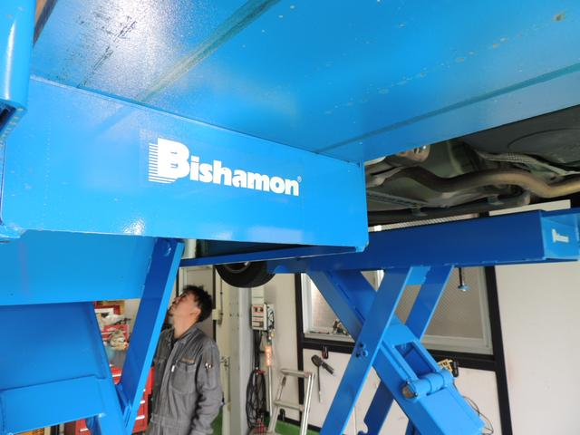 最新リフト「Bishamon」を導入しました。作業効率がUPしました。