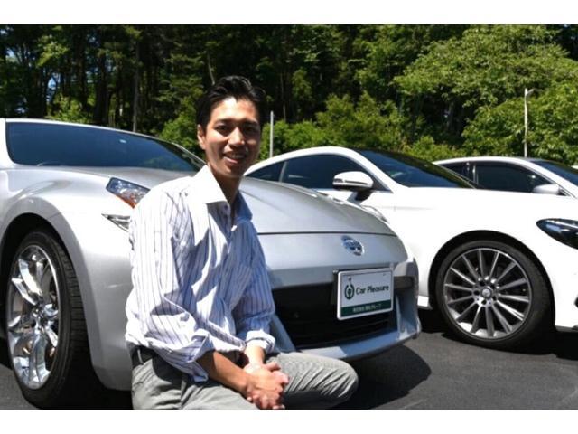 営業の山崎 仁です。任せて本当に良かったと感じて頂ける車屋さんをスタッフ全員で作って参ります