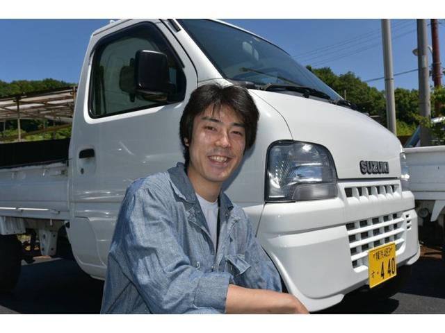 はじめまして.お客さまの整備を担当をします鈴木恒太です。