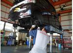 運輸局長指定工場では増田カーサービスでは1日車検も可能です!