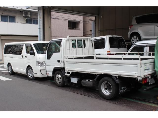 いすゞ指定工場になりますので、商用車の整備全般を得意としております!