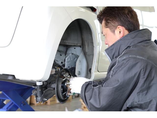 熟練の技術と最新の設備でお車をフォローアップいたします。