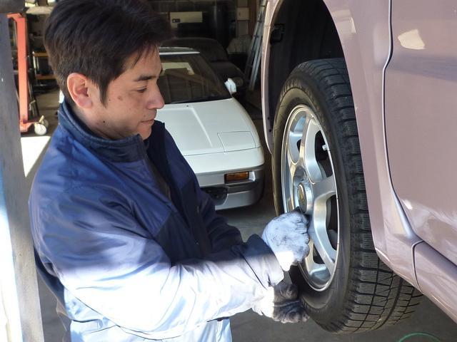 タイヤのローテーションなど、何でもご相談ください!