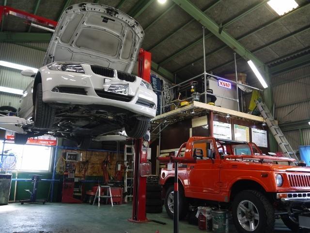 輸入車などの修理もご相談下さい。