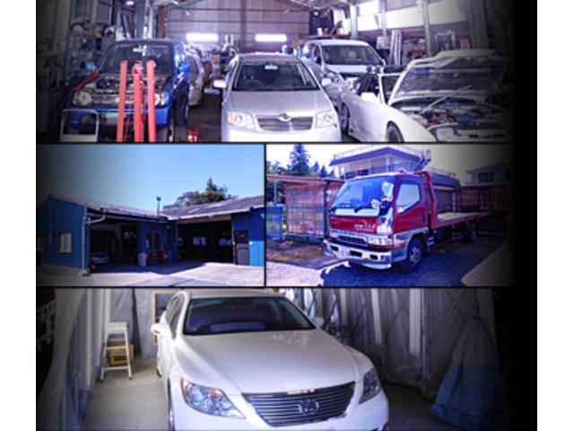 修理や鈑金・塗装に関しては、技術を持った職人が対応します。