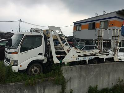 積載車も完備