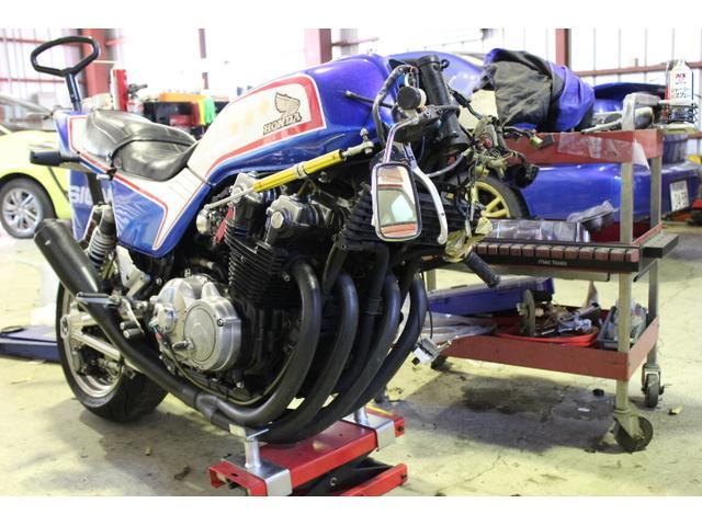 バイクの整備や修理も対応しております。