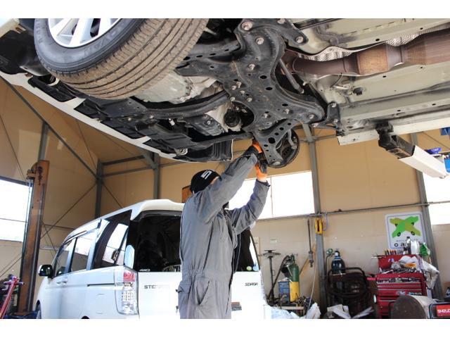 国が認めた認証工場ですので、安心の整備を実施しております。