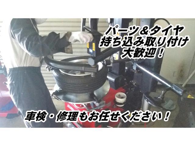 様々なパーツ&タイヤを取り付け可能ですので、安心して持ち込みください!