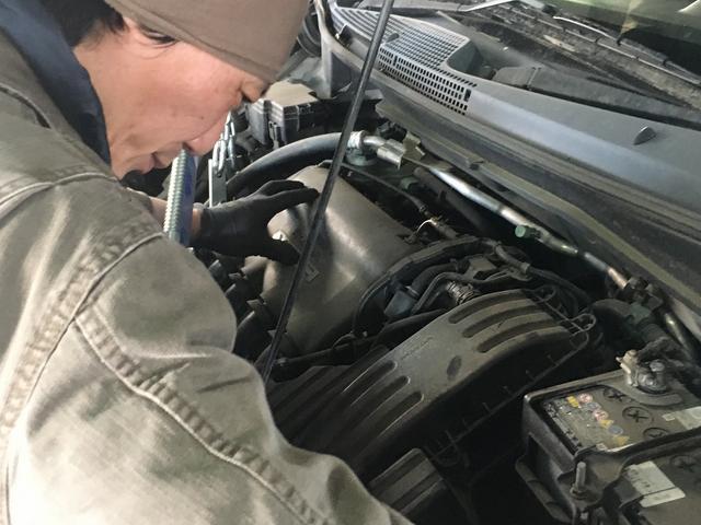 先ずは、お車の状態を確認し、安く仕上げる方法を一緒に考えていきます