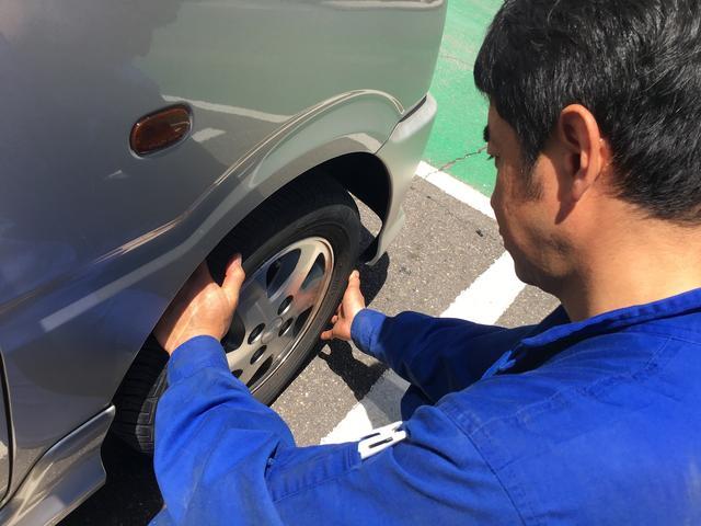 タイヤ交換・保管サービスもあります