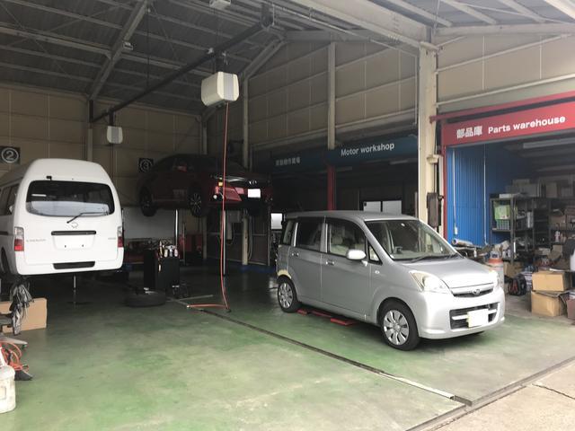 車検・点検・一般整備・修理・パーツ取付・タイヤ交換などお車のことは何でもご相談下さい。