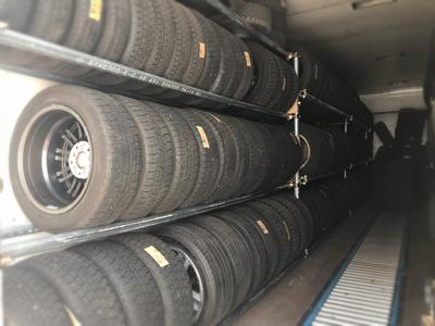 便利なタイヤ保管