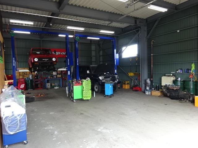 車やバイクの修理、メンテナンスおまかせください!