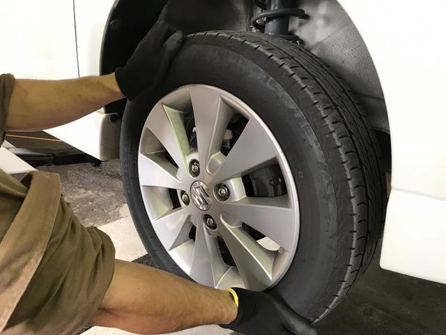 タイヤの空気圧・摩耗・溝のチェックもお気軽にお任せ下さいね