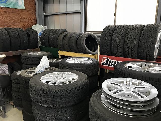 タイヤ保管も可能です。ご相談下さい!